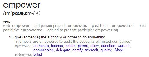 Empower in Google