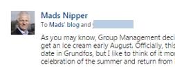 Teaser from Mads blog